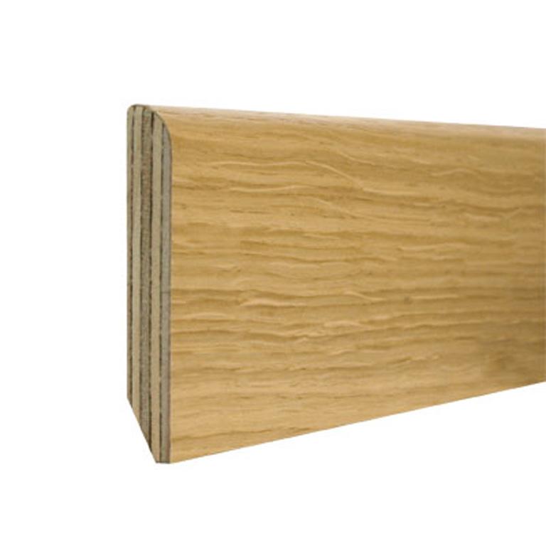 Plintă stejar stratificata H80/GR13MM